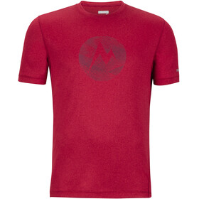 Marmot Transporter SS Tee Men sienna red heather